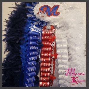 Heart Homecoming Mum by Mums and Kisses
