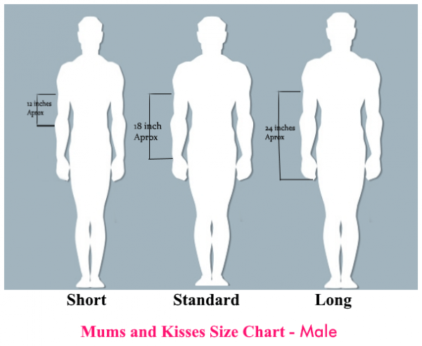 Garter Size Chart - Mums and Kisses