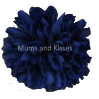 Blue Mum Flower