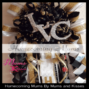 custom homecoming mums